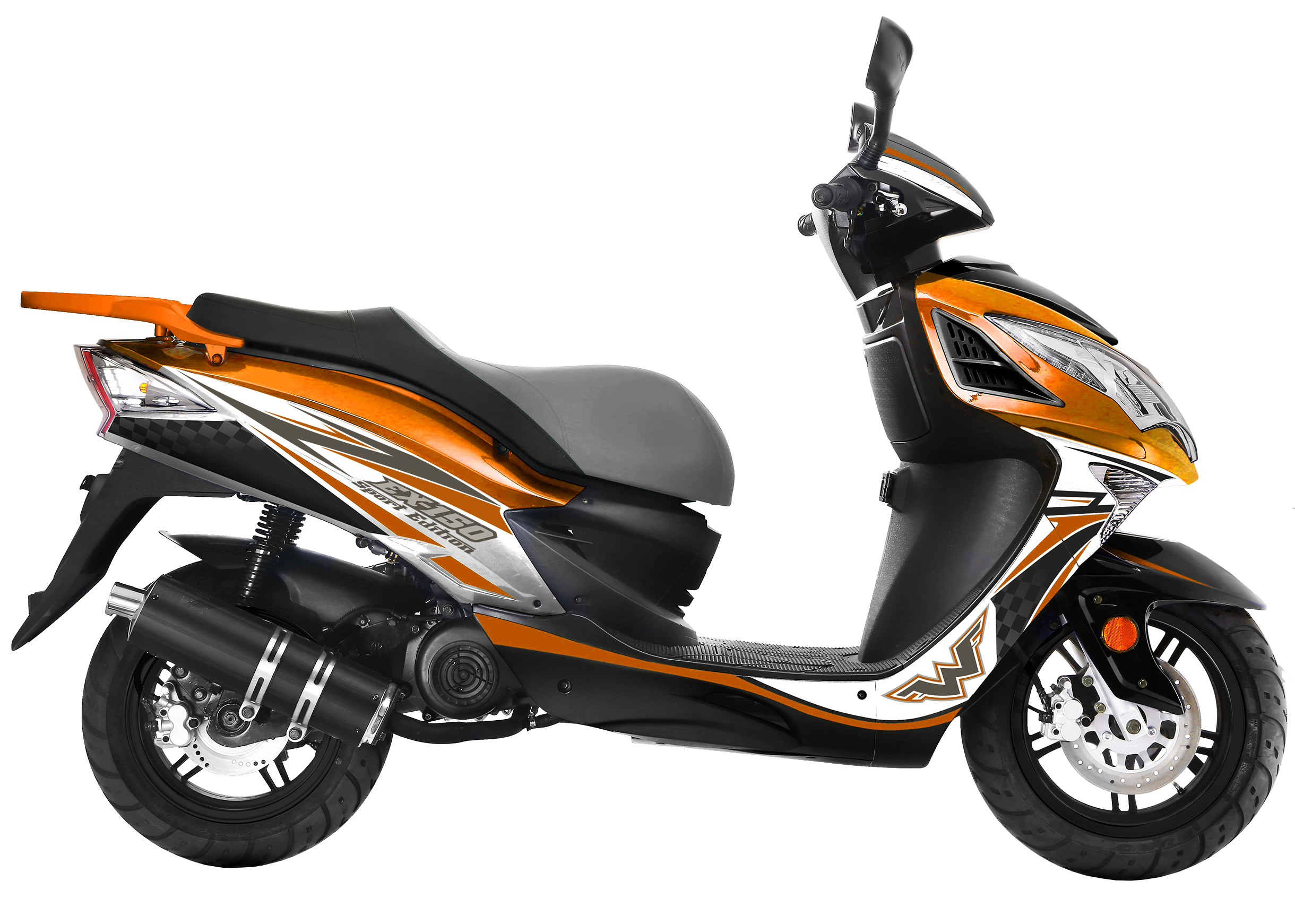 Wolf 150cc Scooters -